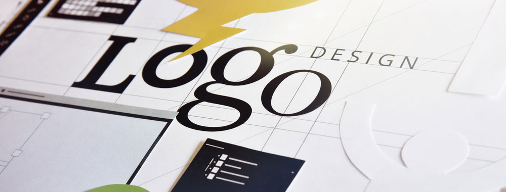 logo design concept on paper